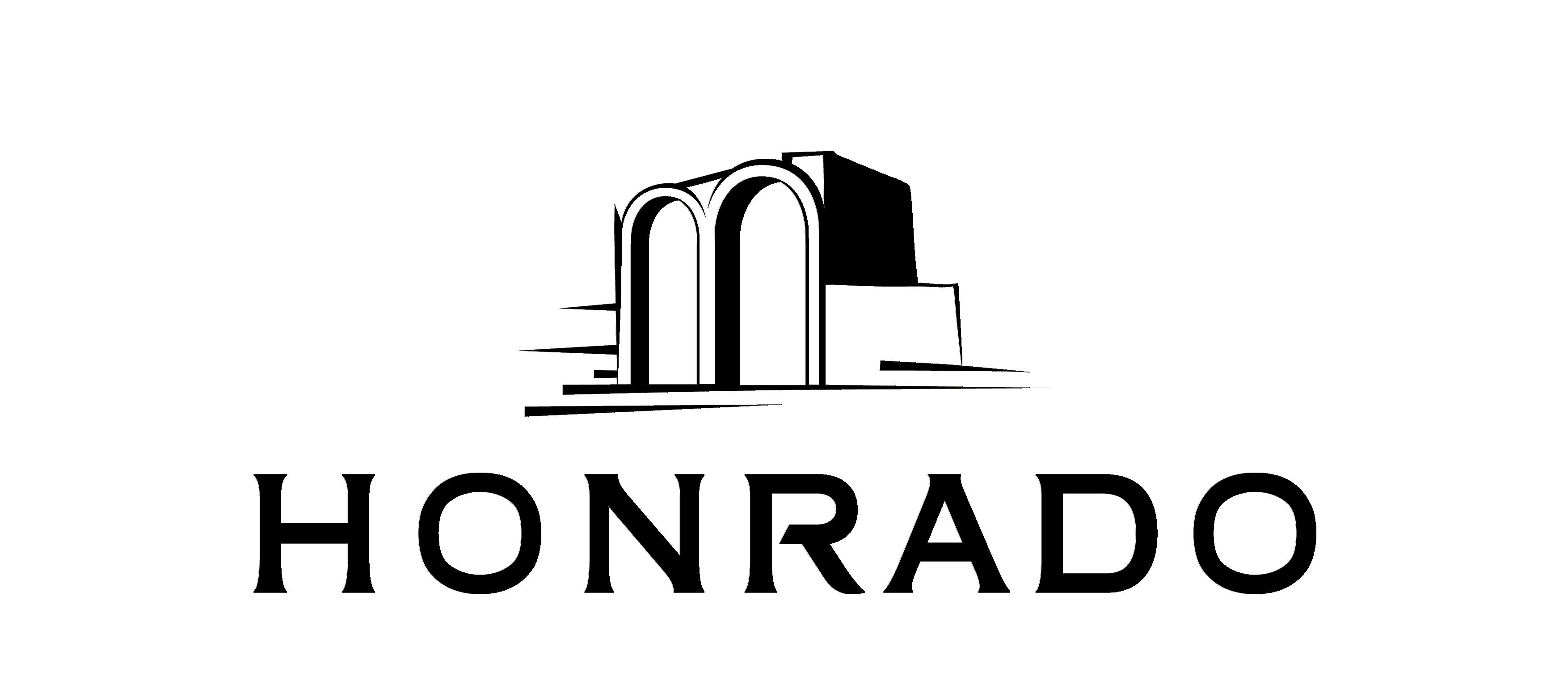 Logotipo Honrado Preto